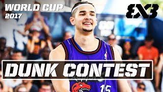 Kobe Paras vs. 5 Pro-Dunkers! | Dunk Contest - FIBA 3x3 World Cup 2017 (Re-Live)