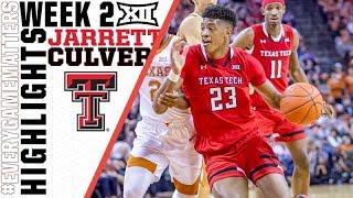 Jarrett Culver | Leading Texas Tech to wins in week 2 of Big 12 play