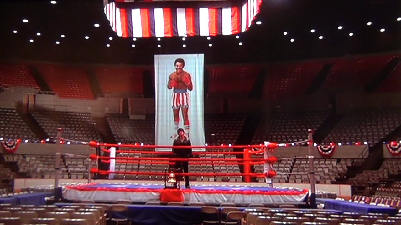 rocky madison square garden the night before the fight youtube