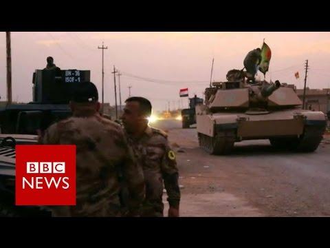 Mosul: Iraqi forces near the city perimiter - BBC News