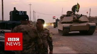 Mosul: Iraqi forces near the city perimiter - BBC News