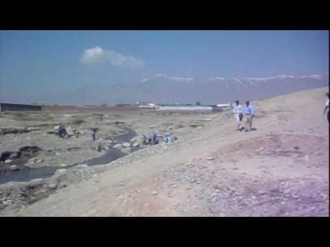 Hiking around Lake Qargha