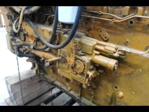 caterpillar 3406b youtube rh youtube com 3126 Cat Engine Fuel System 3126 Cat Engine Fuel System