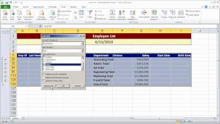 creating a simple macro in excel 2010 part 1