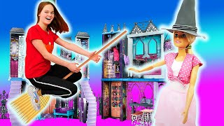 Игры для девочек - Хэллоуин для куклы Барби! - Крутая вечеринка в видео шоу Будет исполнено.