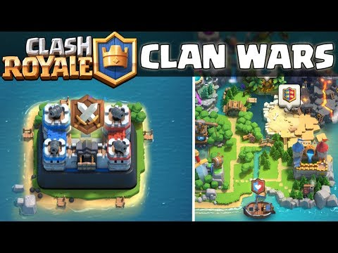 CLASH ROYALE ☆ CLAN WARS!