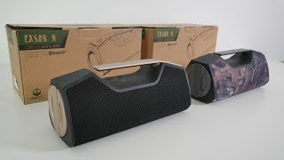 Powerful Portable Waterproof TWS Speaker by Wharfedale EXSON M - £75