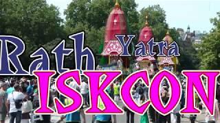 London Rath Yatra  2018 ISKCON