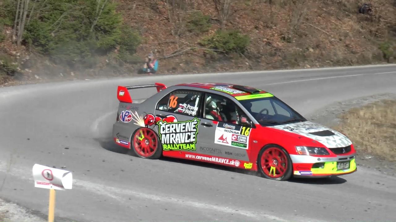 10 LRracing Rally Roznava 2017 - Pravda / Hojnos - Mitsubishi ...