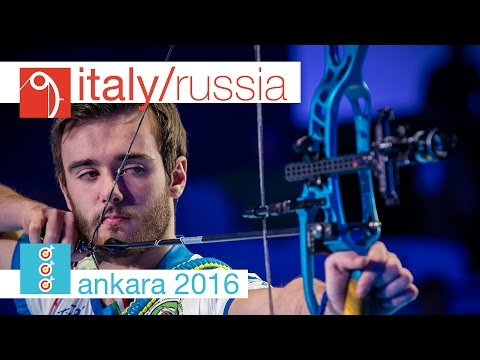 Russia v Italy – Compound Junior Men's Team Gold Final | Ankara 2016