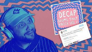 Decap - Drums That Knock (Volume 6) (Drum Kit Review + Demonstration)