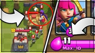 INVINCIBLE WITCH & 11 ELIXIR GLITCH!   Top 10 Things You Didn't Know About Clash Royale!