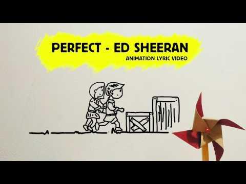 PERFECT - ED SHEERAN - COVER - lyric video (animation)