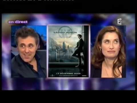 Emmanuelle Devos et Gilbert Melki - On n'est pas couché 23 janvier 2010 #ONPC