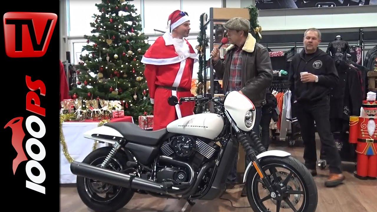 Video Harley Davidson Street 750 Umbau Custom Z 252 Ndwerk