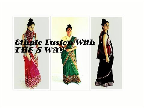 Mekhela Sador and a little fusion   Assamese traditional wear with a difference
