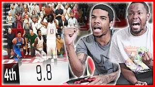 9.8 SECONDS LEFT! HARDEN WITH THE SHOT TO TIE!  - NBA 2K17 Gameplay