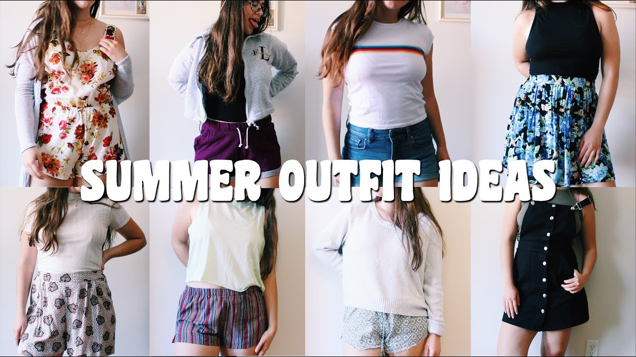 20 SUMMER OUTFIT IDEAS | Fashion Lookbook