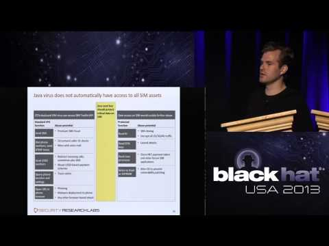 Black Hat 2013 - Rooting SIM Cards