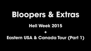 Eating Challenge Bloopers & Outtakes - Hell Week & Eastern USA Tour!!