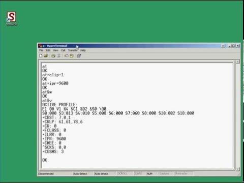 Programmere CINTERION MC55i (25005095) til DBM6000