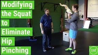 Modifying the Squat to Get Rid of Hip Pinching | Ep 114 | Movement Fix Monday | Dr. Ryan DeBell