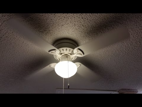 how to install a ceiling fan outlet box and brace - youtube