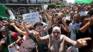 تعزيزات أمنية بالتزامن مع بدء توافد المتظاهرين في الجمعة 25 بالجزائر