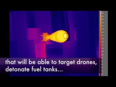 Defence laser technology melts mortar