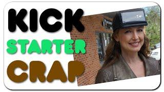 Kickstarter Crap - Cell phone headband Flashlight