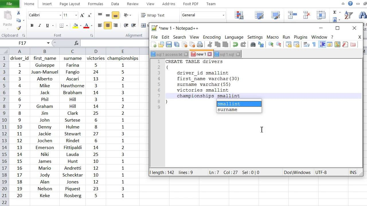 Sql tutorial pdf choice image any tutorial examples sql tutorial 1 create database table data input with insert sql tutorial 1 create database table baditri Gallery