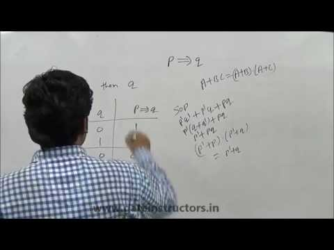 IMPLIES Operator & Logical Connectives Properties and Examples : Discrete Mathematics