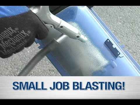 Soda Blasting Media >> Soda Blaster Media Blaster In Action The Small Job Blast System From Eastwood