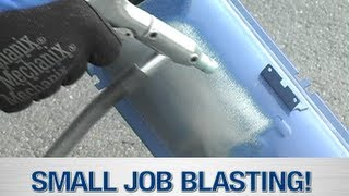 Soda Blaster & Media Blaster In Action - The Small Job Blast System from Eastwood