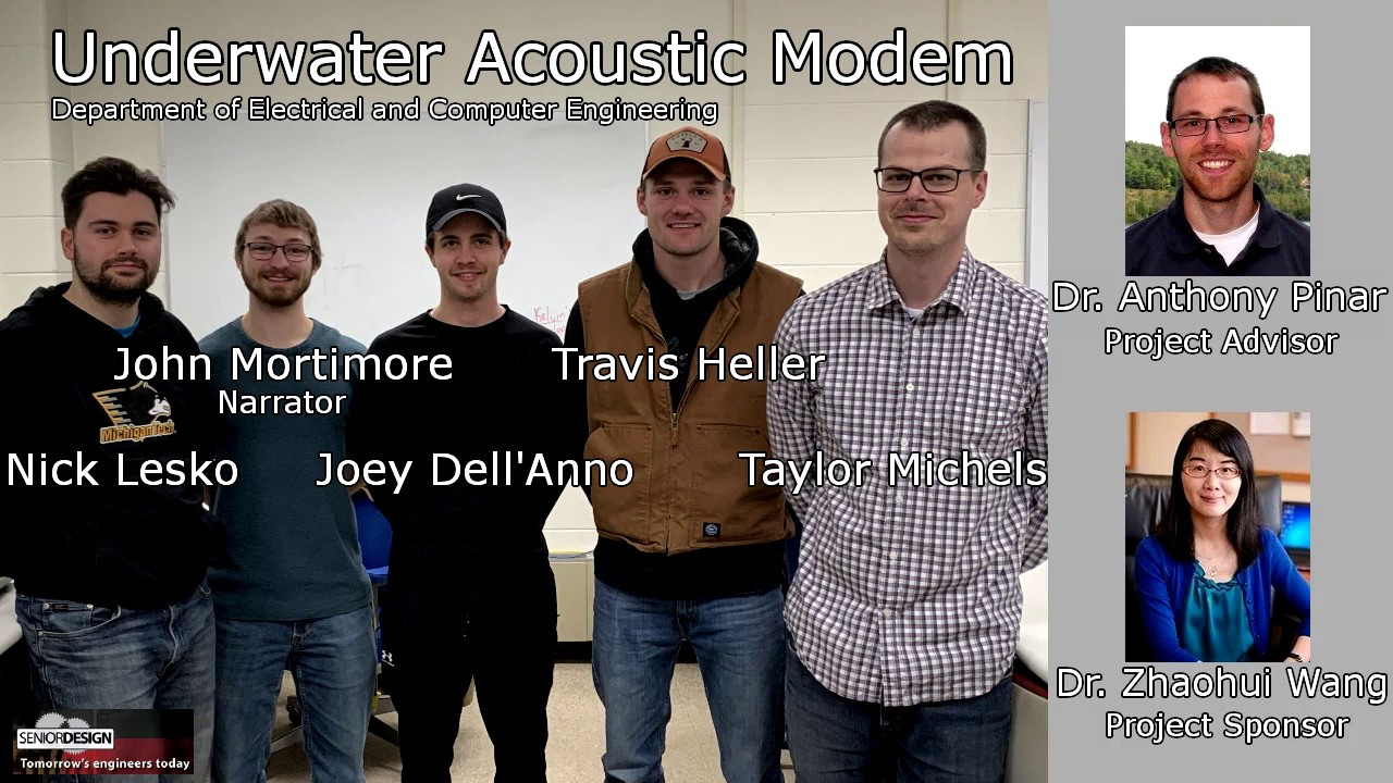 Preview image for 235: Low-Cost Underwater Acoustic Modem video