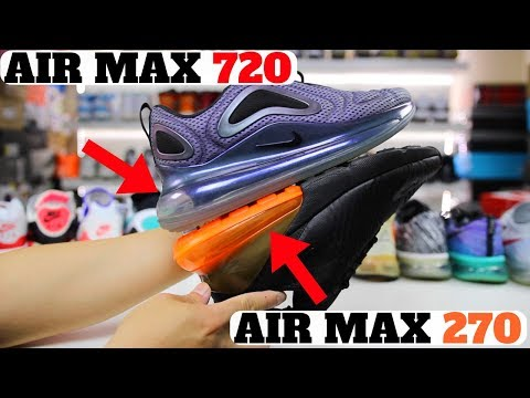 Nike AIR MAX 720 vs AIR MAX 270 vs VAPORMAX! WILL NIKE RECALL THEM?