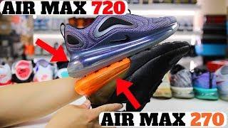 Nike AIR MAX 720 vs AIR MAX 270 vs VAPORMAX! WILL NIKE RECALL THEM?
