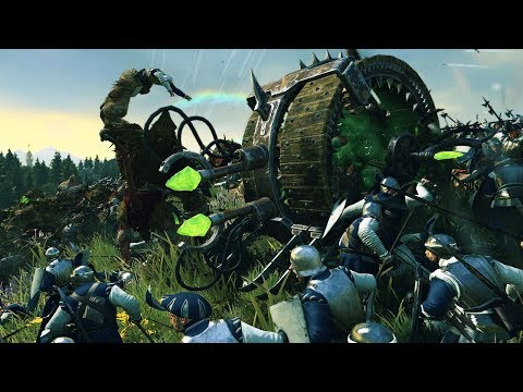 ATTACK OF THE DOOMWHEELS - TOTAL WAR WARHAMMER 2 MULTIPLAYER FREE FOR ALL