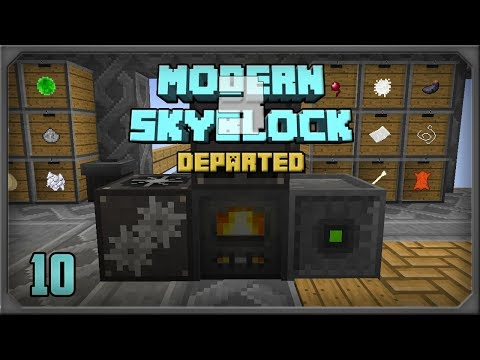 Modern Skyblock 3 Departed EP10 Actually Additions + Lens of the Miner Automation