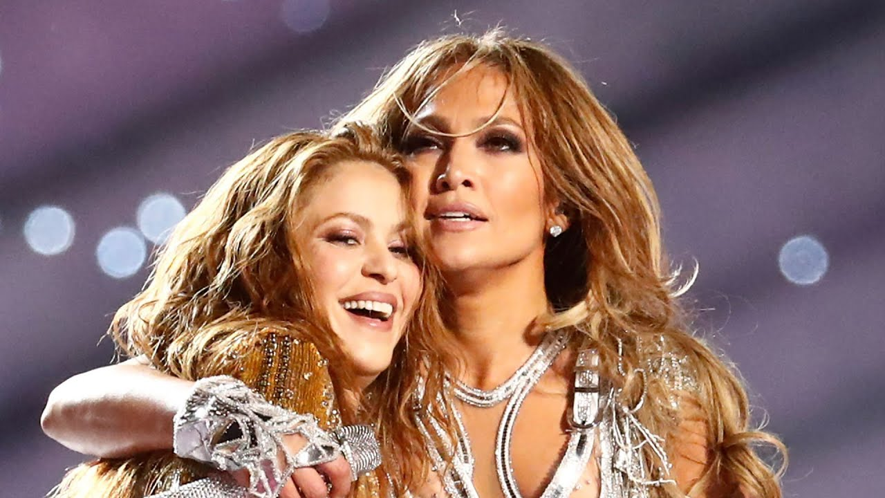Jennifer Lopez, daughter share stage with Shakira at Super Bowl ...