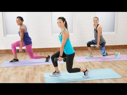 20-Minute Total Body Sculpt and Tone Workout with Autumn Calabrese | Class FitSugar