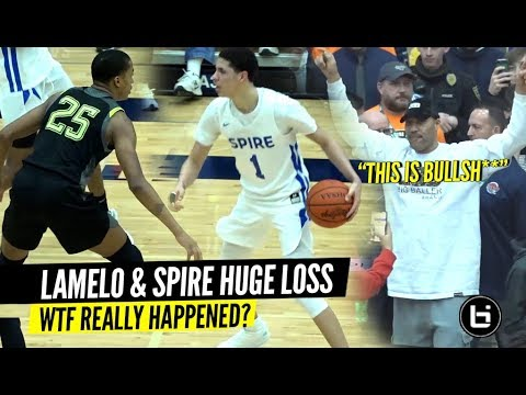LaMelo Ball & Spire Get Embarrassed by 5 Star Nimari Burnett & Prolific Prep!