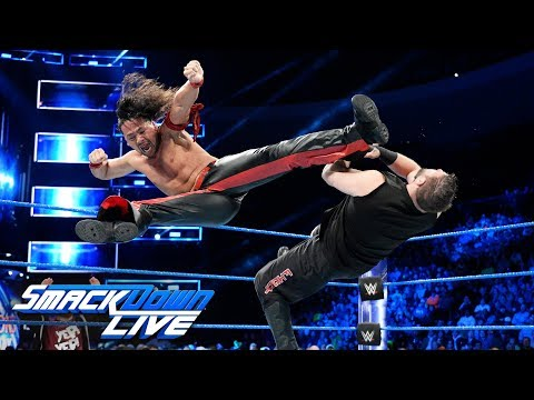 Download Youtube: Nakamura and Owens collide with Daniel Bryan watching: SmackDown LIVE, Dec. 12, 2017