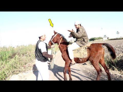 #13 لن تصدق المقلب اللى عمله صقر فى الحاج مقطوش بعد مضحك عليه قى الكلبه !! أتحداك ان لا تضحك !!