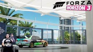 Стритрейсинг на Subaru Impreza 22b - Forza Horizon 3