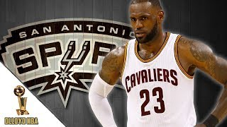 Chris broussard says lebron james could sign with san antonio spurs or la lakers!!! | nba news