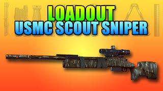 loadout m40a5 usmc scout sniper   battlefield 4 bolt action gameplay