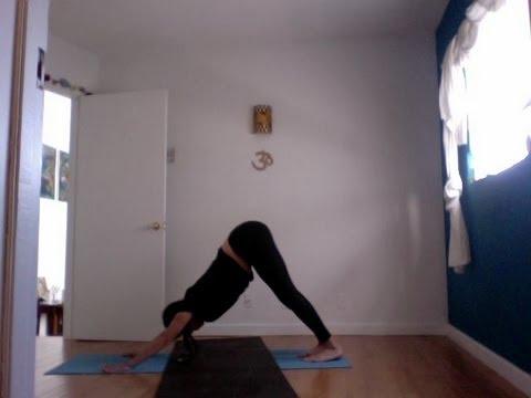 beginning yoga sun salutation a instruction ashtanga warm