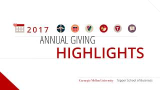 Tepper School of Business 2017 Annual Report