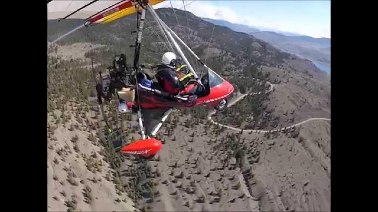 91. Trike Flying to Savona During Heavy Turbulence. My ...